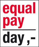 Logo: Equal Pay Day